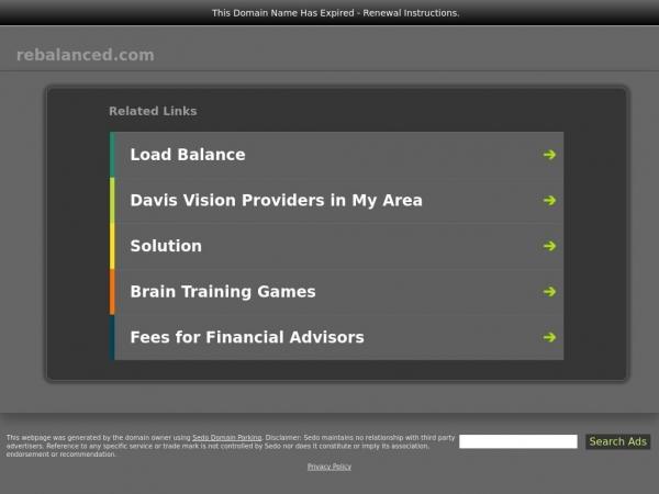 rebalanced.com