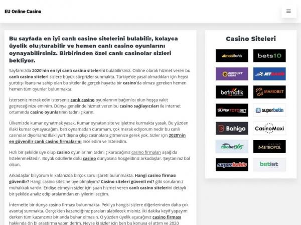 tr.euonlinecasino.com